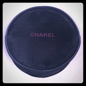 Chanel mesh Cosmetic bag